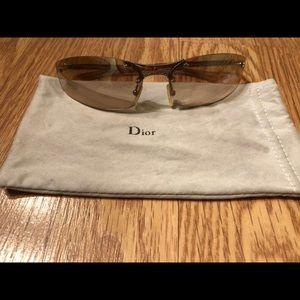 Authentic vintage Dior mini sunglasses